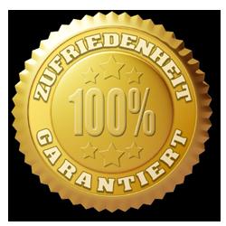 Zufriedenheit 100 % garantiert